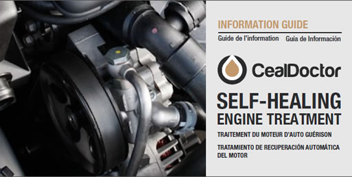 Ceal Doctor Info Guide -  oil additive, fuel additives, gas treatment, small engine repair, engine repair, diesel engine repair, marine diesel engines, nanotechnology products, lucas oil, slick 50